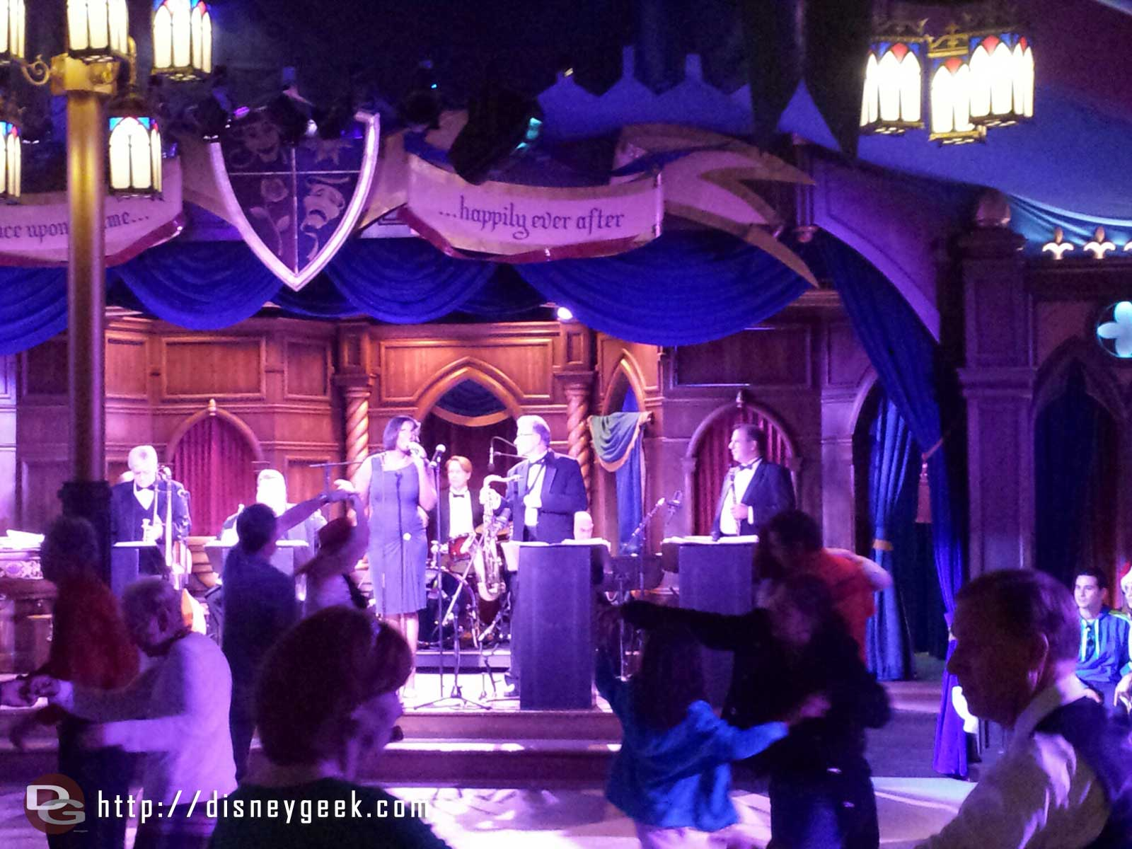 The Royal Swing Big Band Ball in Fantasy Faire
