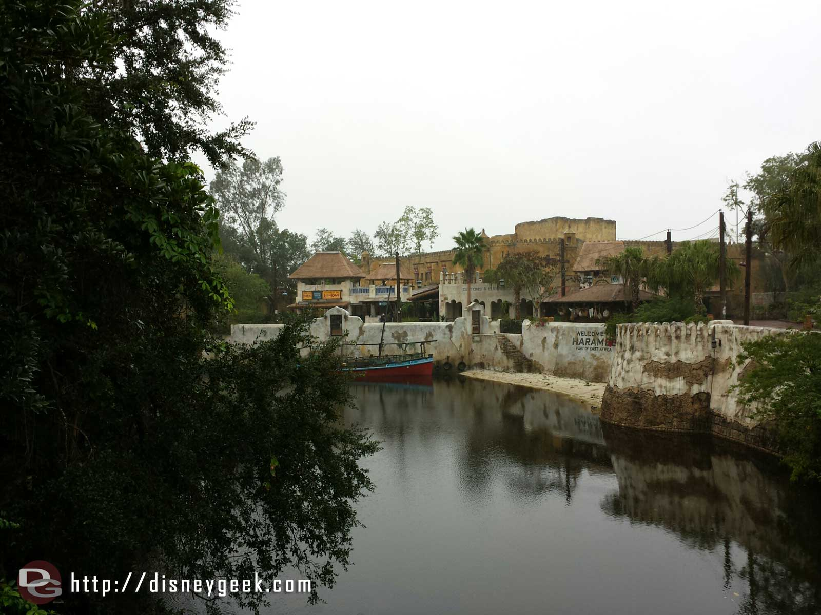 The Harambe theatre from the bridge #wdw