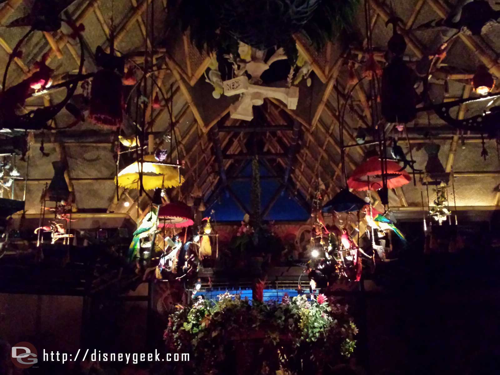 Stopped by the Enchanted Tiki Room