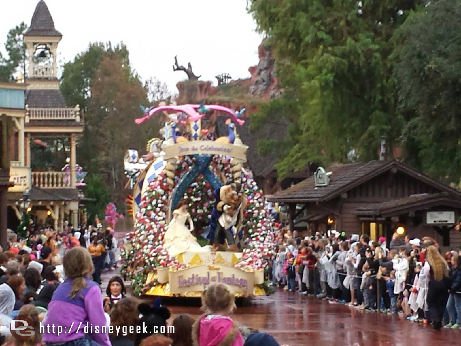 Beauty and the Beast – Festival of Fantasy – #WDW