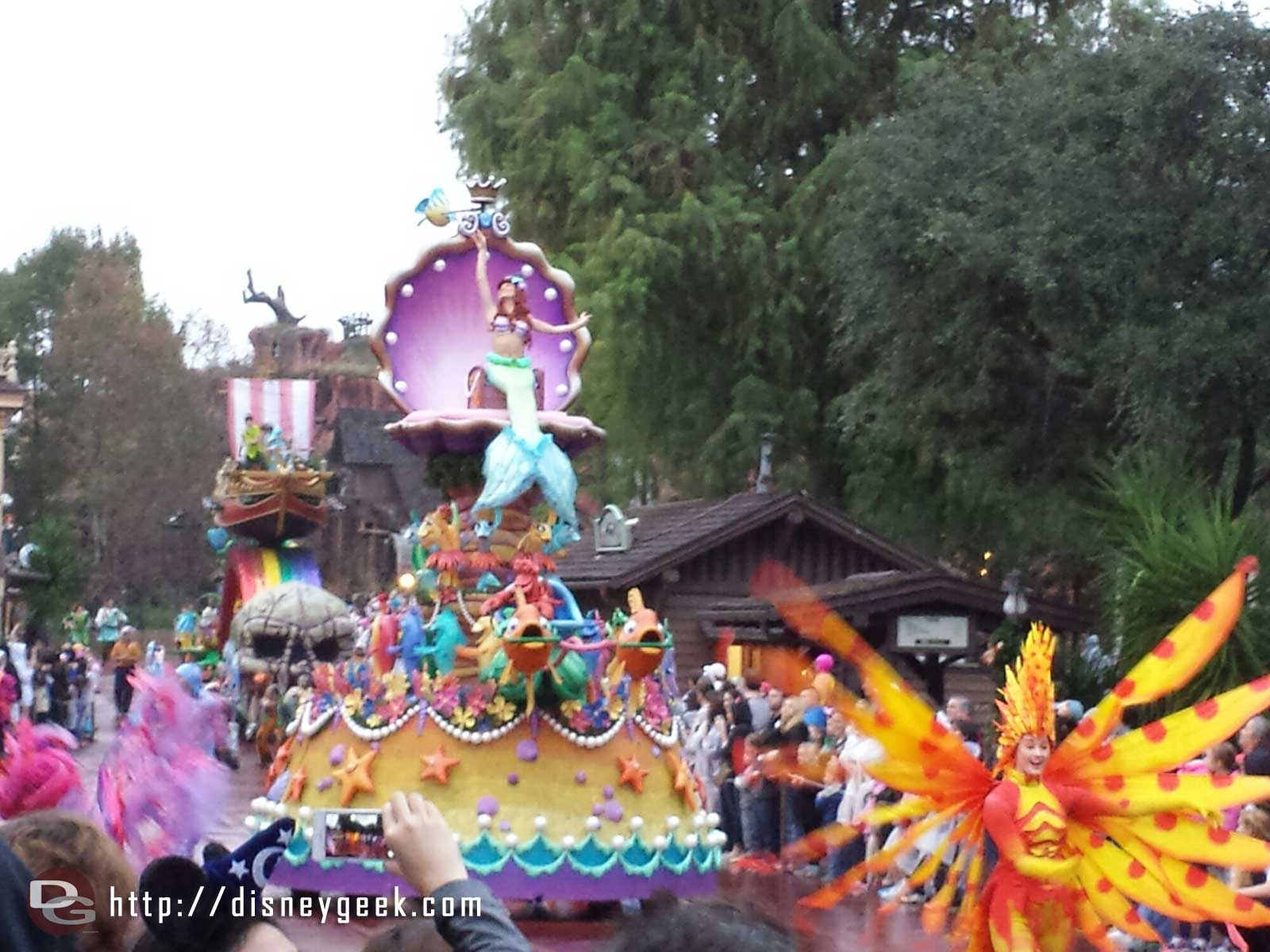 The Little Mermaid – Festival of Fantasy – #WDW