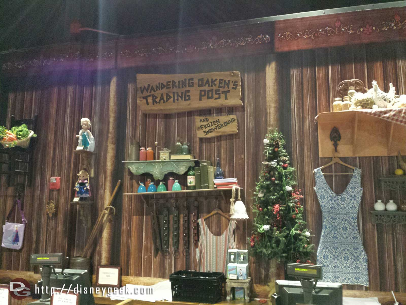 Wandering Oaken's Trading Post aka #Frozen central
