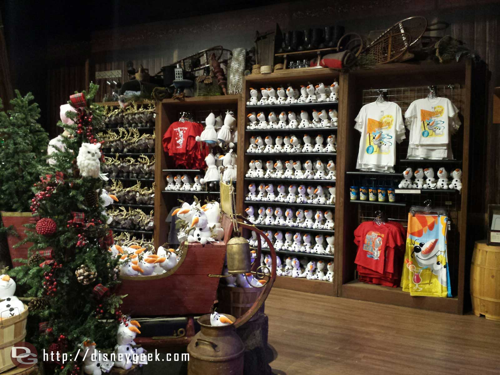 #Frozen merchandise at the Wandering Oaken