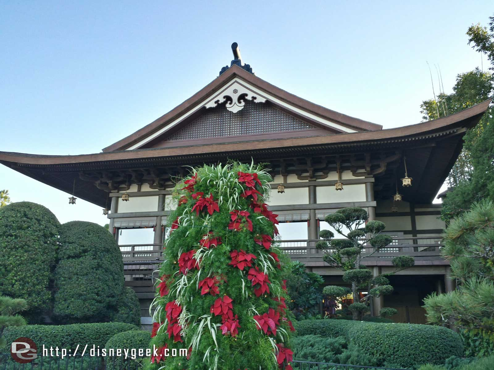 Passing by Japan #Epcot World Showcase