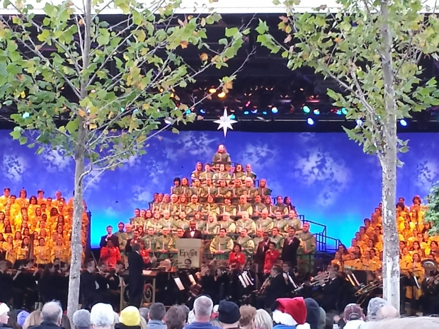 The Candlelight Processional at Epcot
