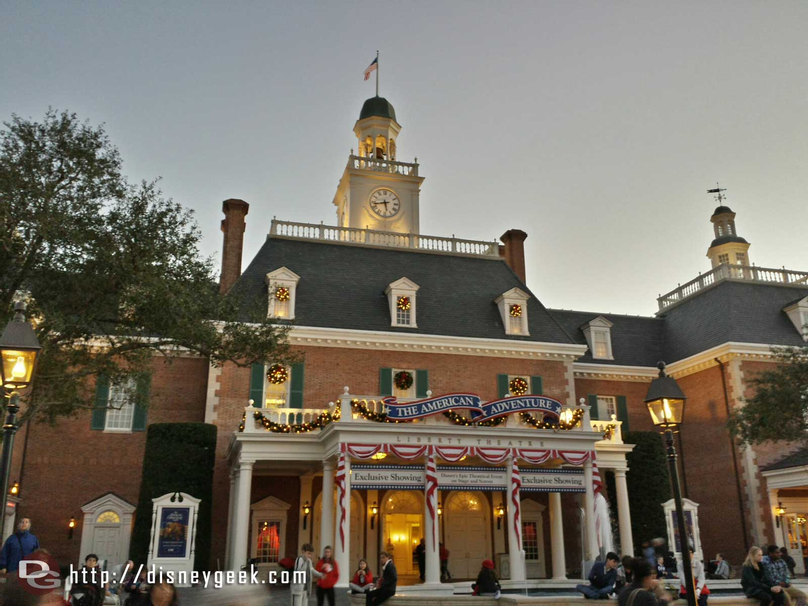 The American Adventure facade #Epcot