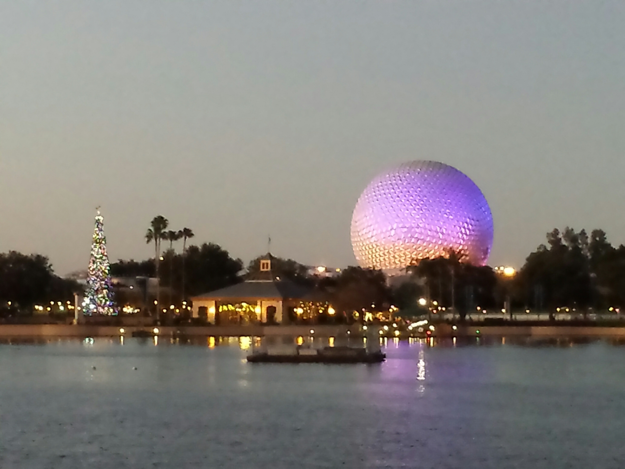 "Overheard while taking this pic ""I didn't know that was Spaceship Earth just thought it was the big Epcot ball"""