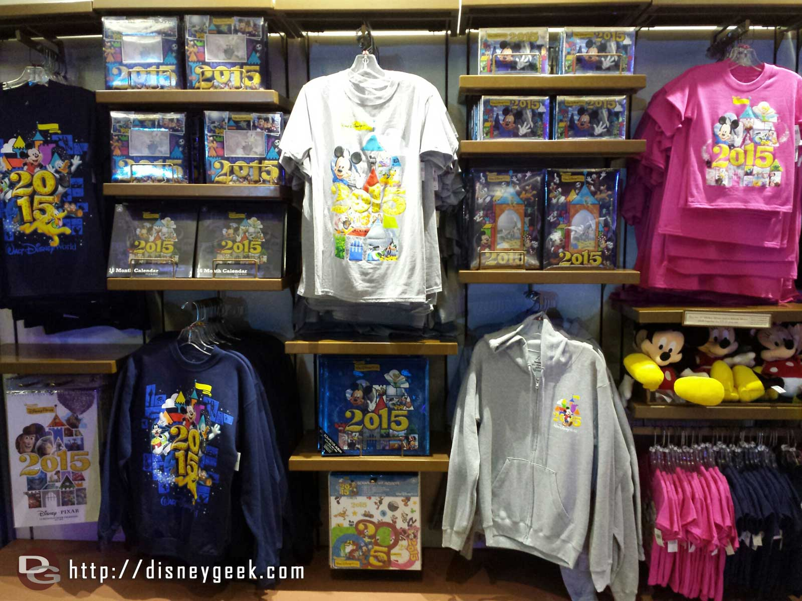 #WDW 2015 Merchandise out at the kiosk in #Epcot between World Showcase & Future World