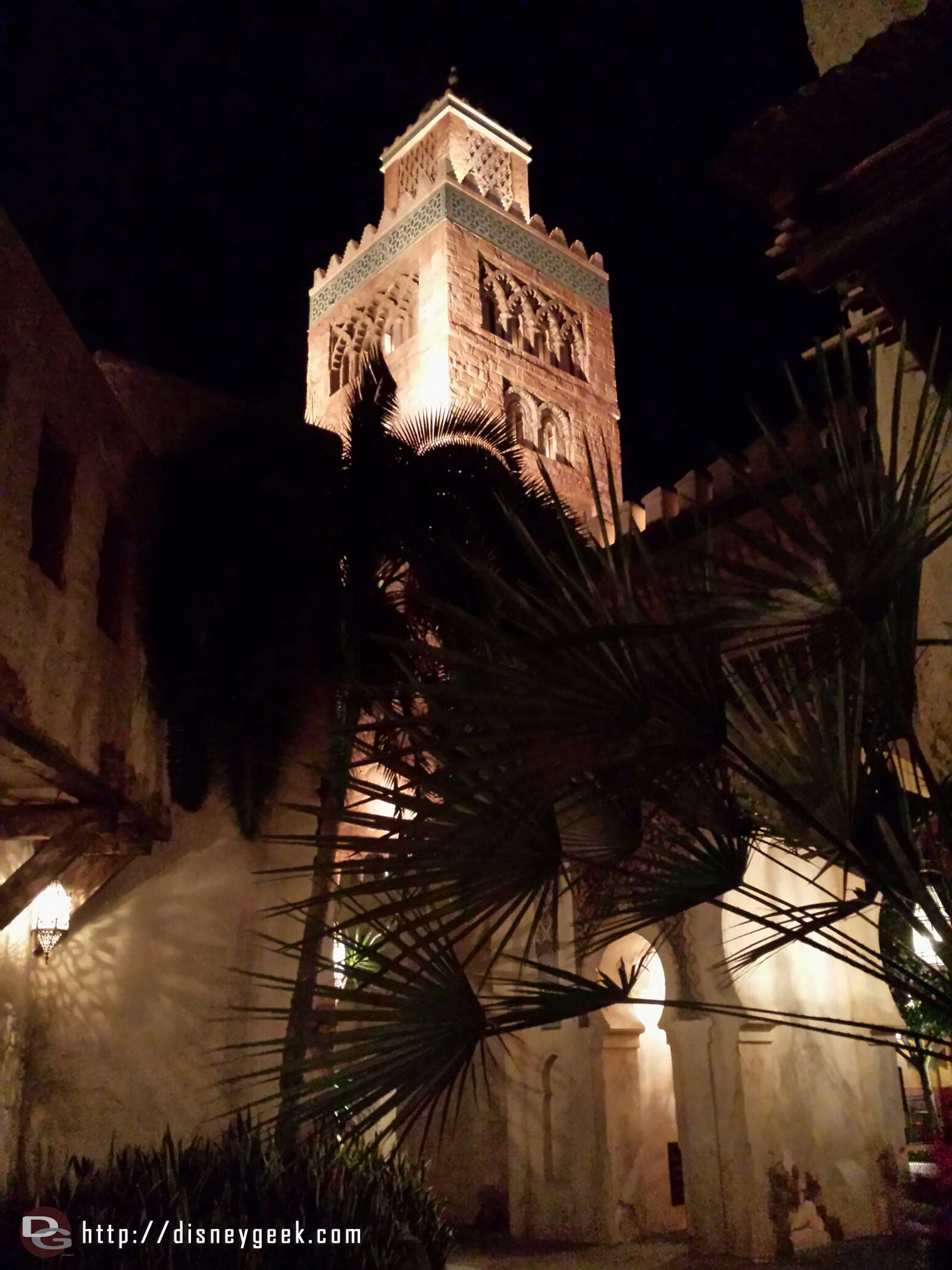 Morocco this evening at #Epcot #WDW