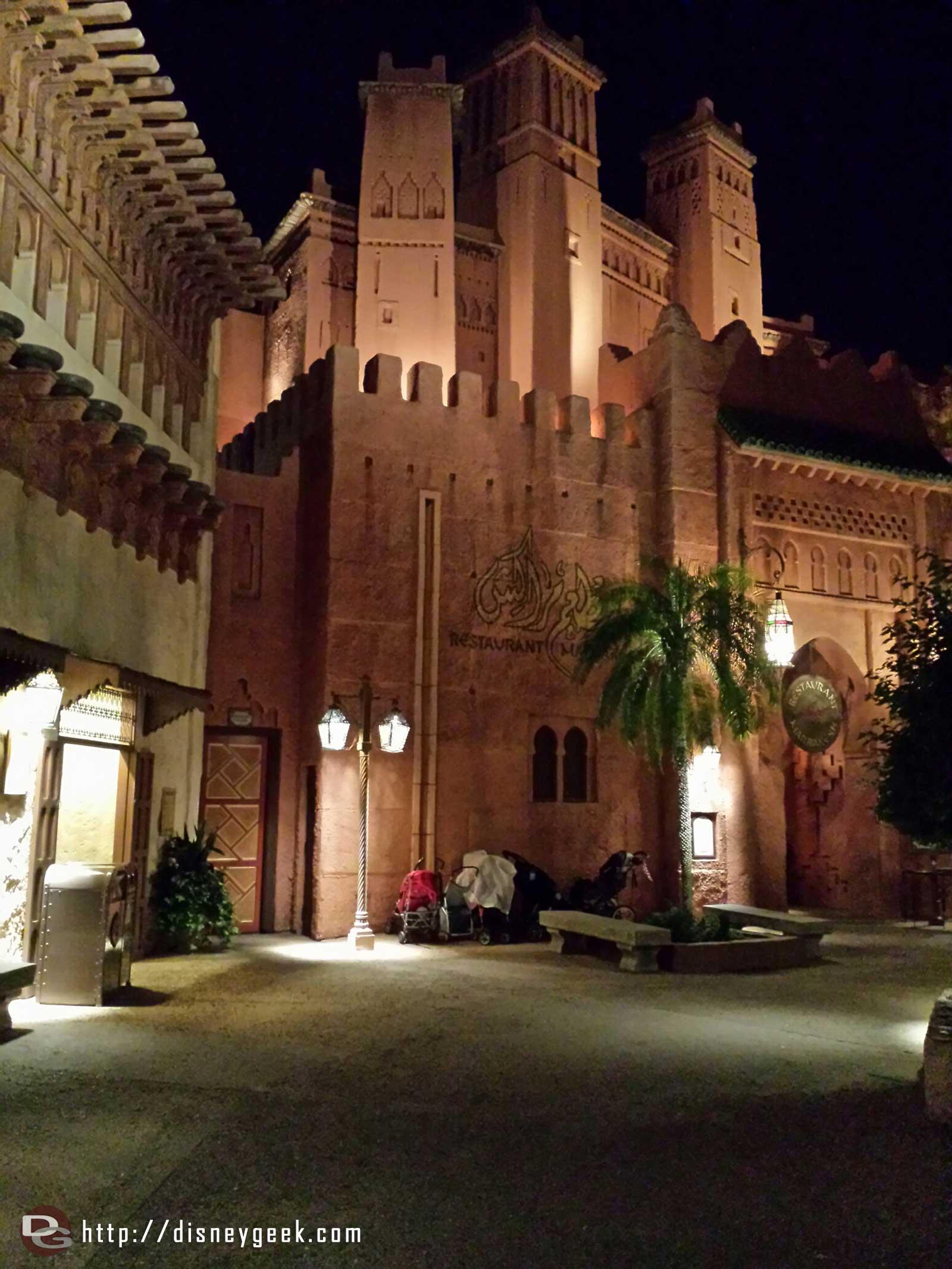 Restaurant Marrakesh exterior in  @ #Epcot