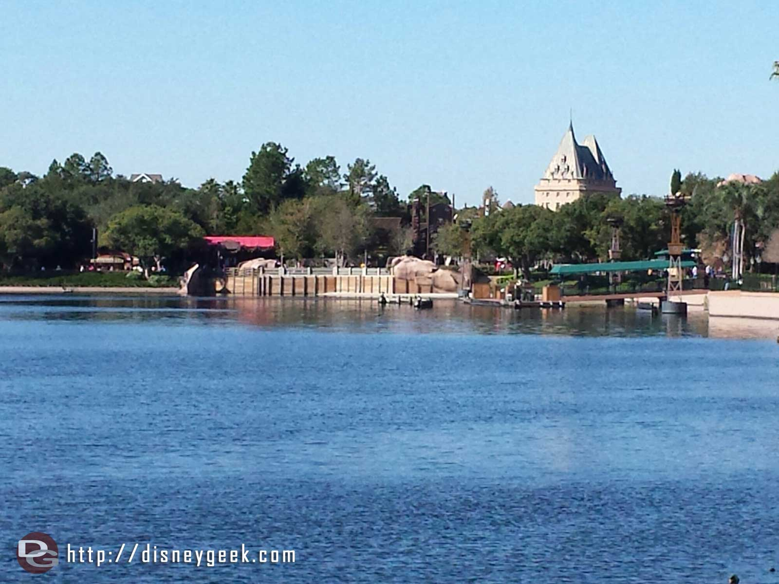 Canada from across the World Showcase lagoon #Epcot