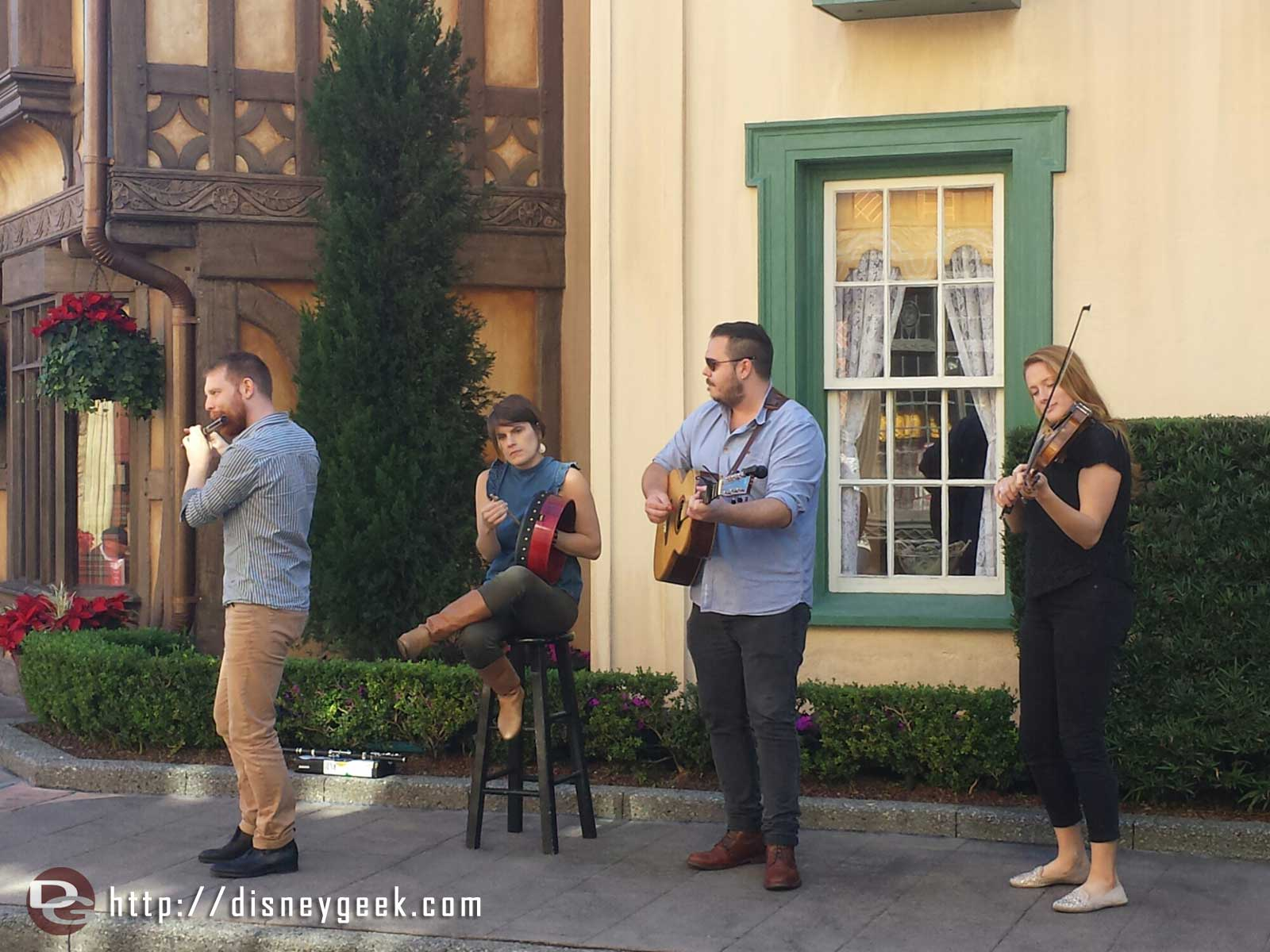 Paul McKenna Band performing in the United Kingdom #Epcot