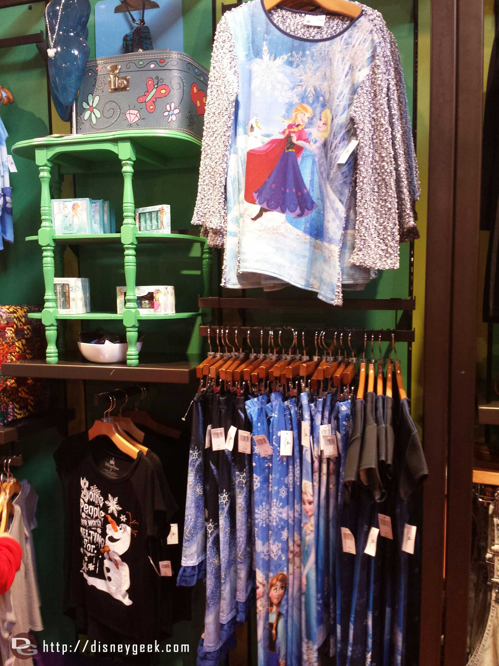 #Frozen merchandise in the co-op Downtown Disney Marketplace
