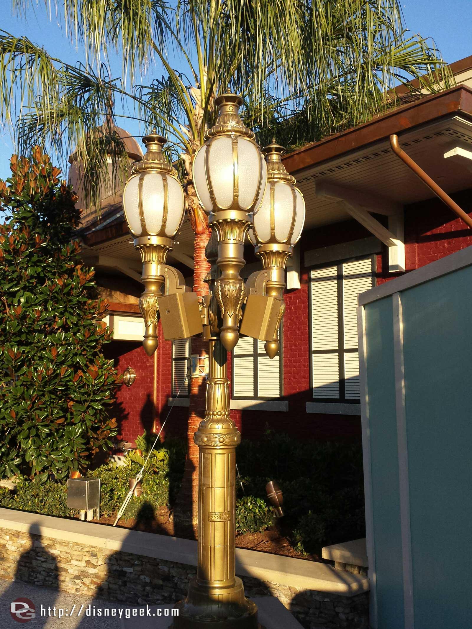 Disney Springs lamp post