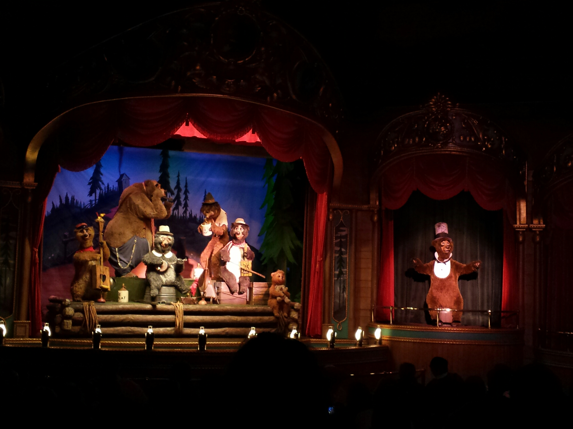 Spending some time with the Country Bears #WDW Magic Kingdom