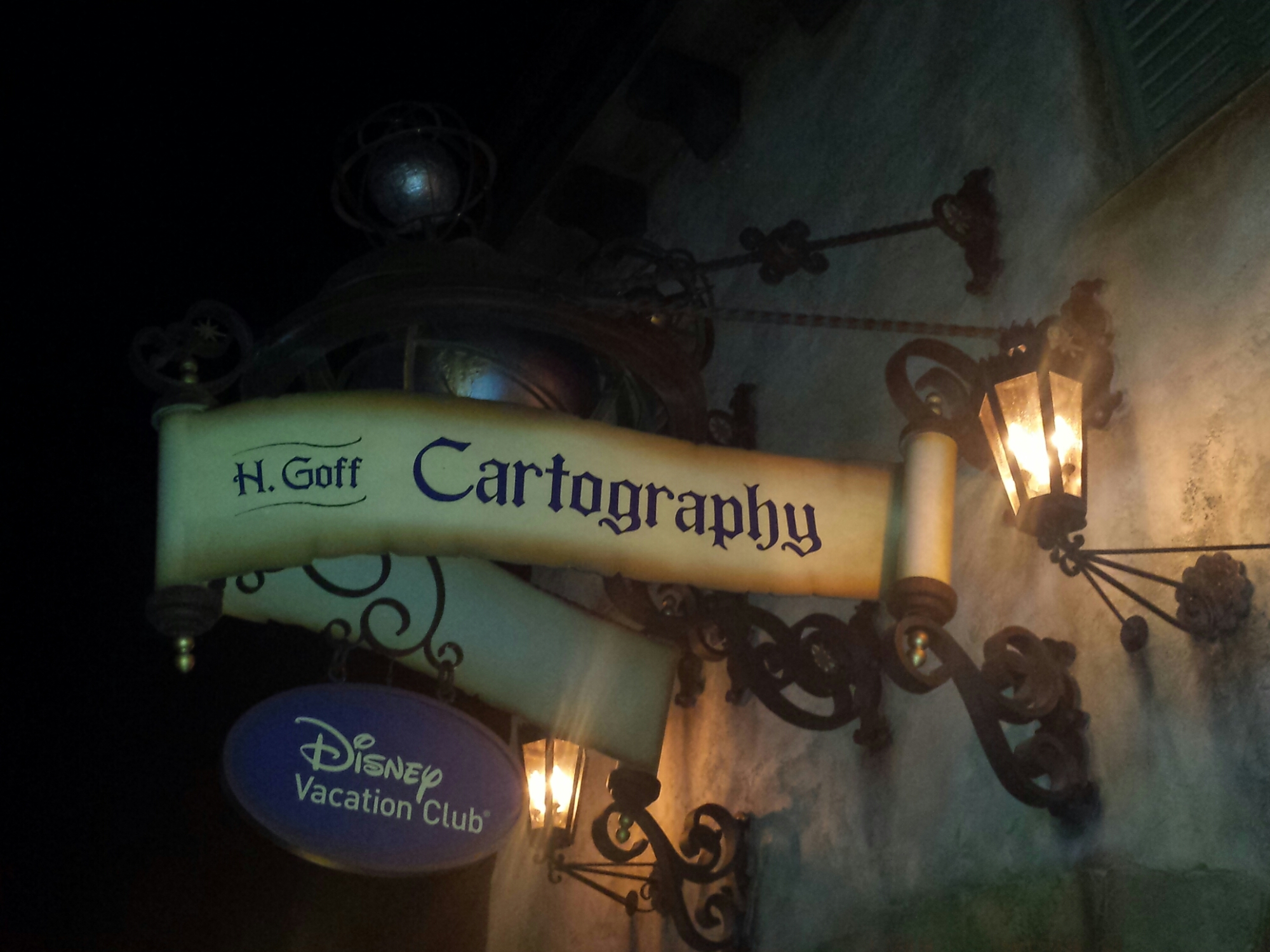 H. Goff Cartography in Fantasyland #WDW Magic Kingdom