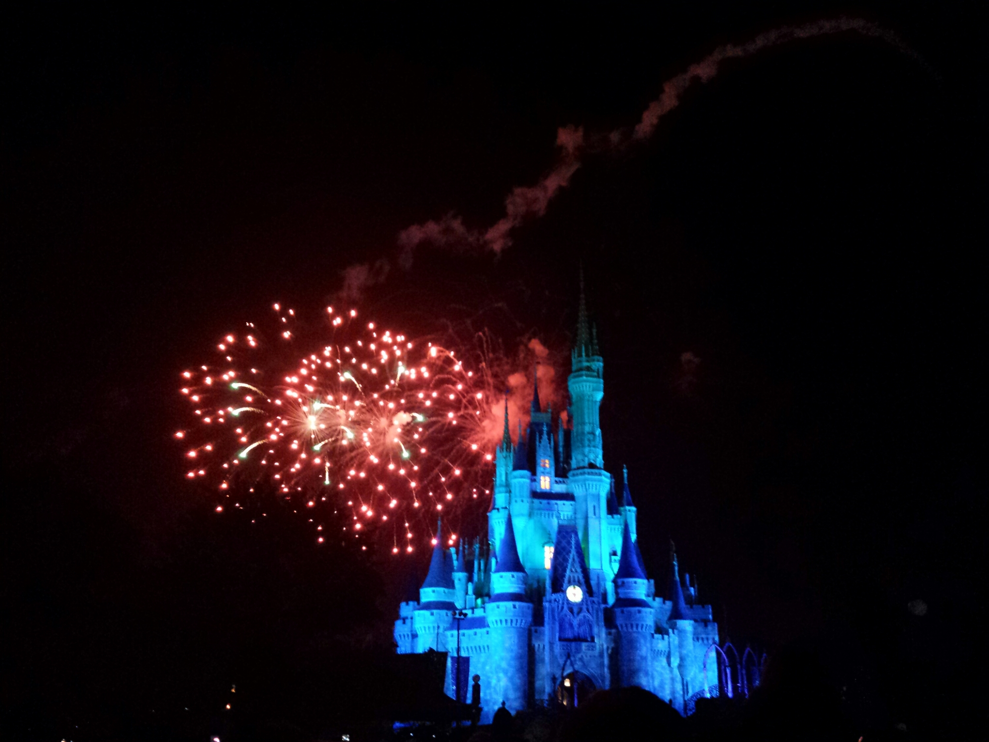 Wishes at the Magic Kingdom #WDW