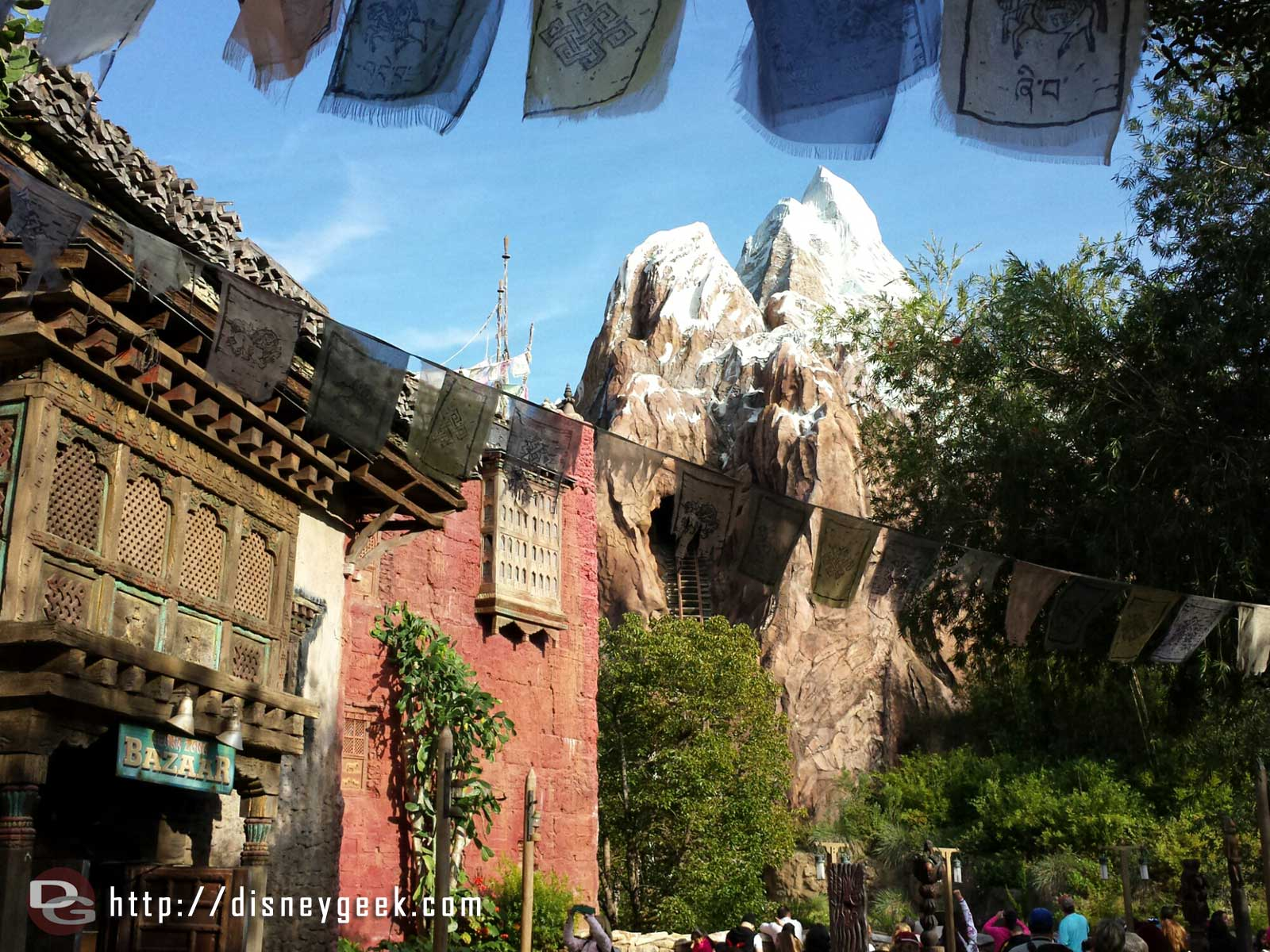 Everest is only a 25 min wait this afternoon – Disney's Animal Kingdom