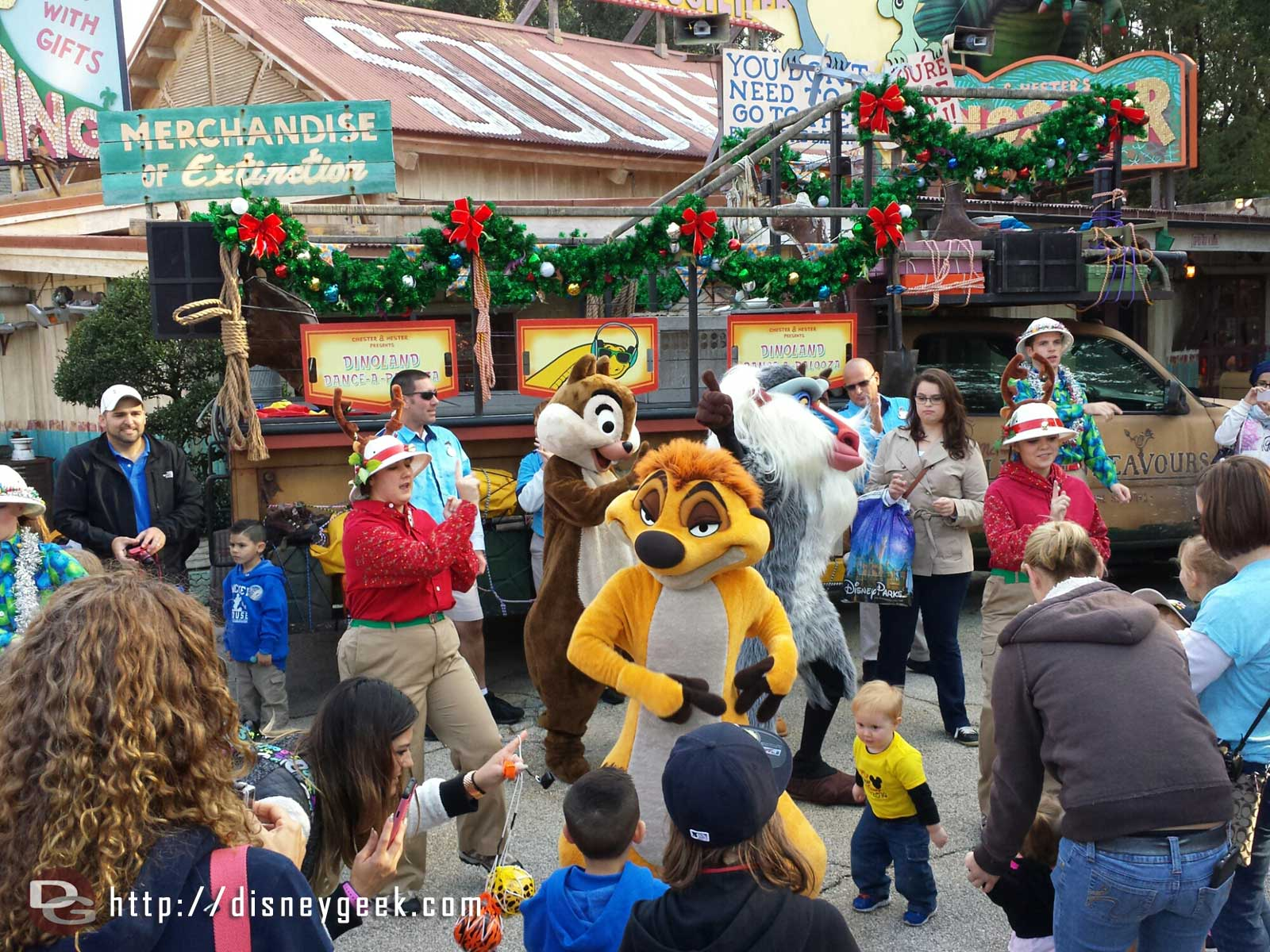 DinoLand Dance-a-Palooza   – Disney's Animal Kingdom