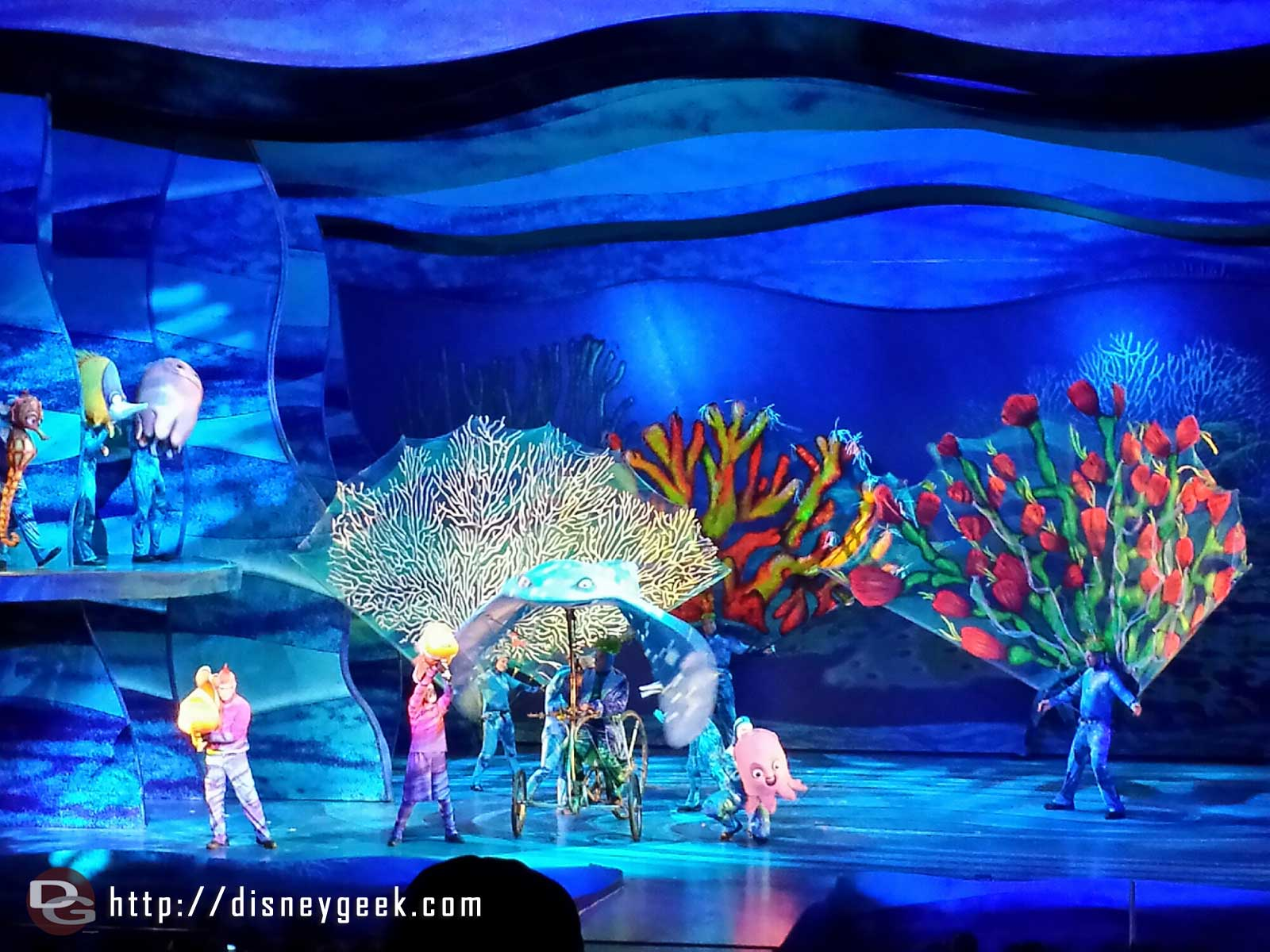 Finding Nemo the Musical at Disney's Animal Kingdom