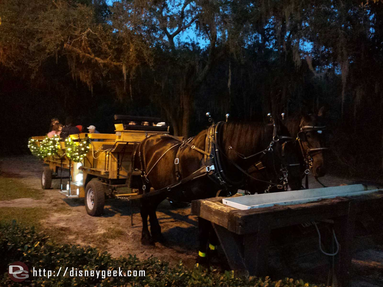 Fort Wilderness wagon rides $8/$5 for 25 min ride