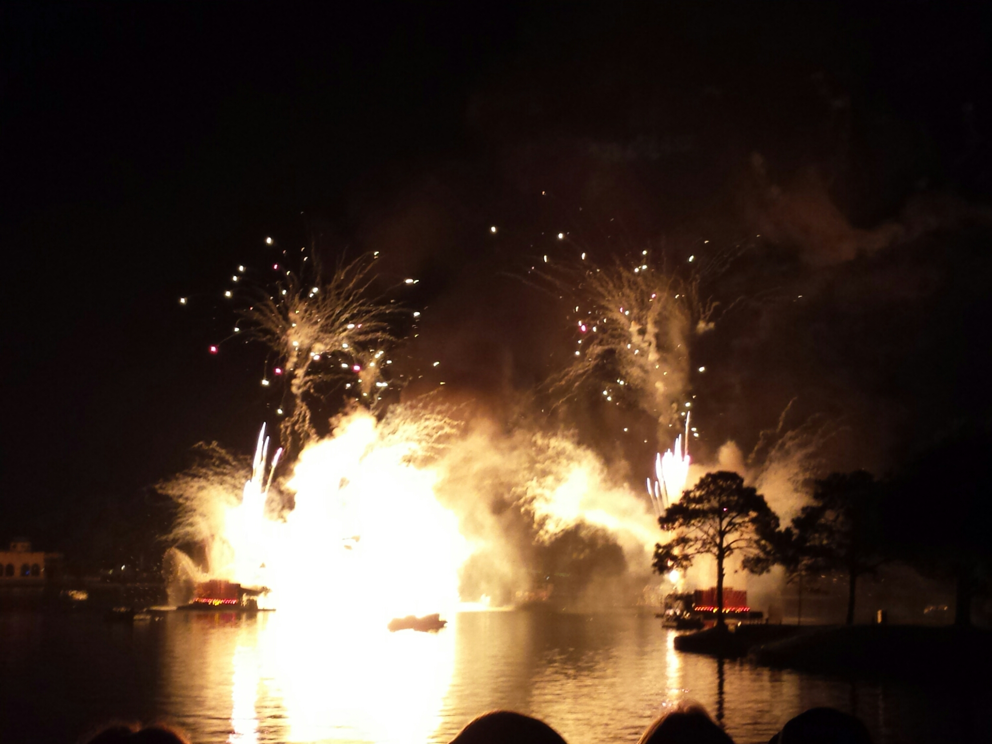 Closing out the evening with Illuminations Reflections of Earth at #Epcot