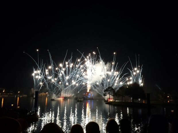 Closed out my evening with Illuminations Reflections of Earth.