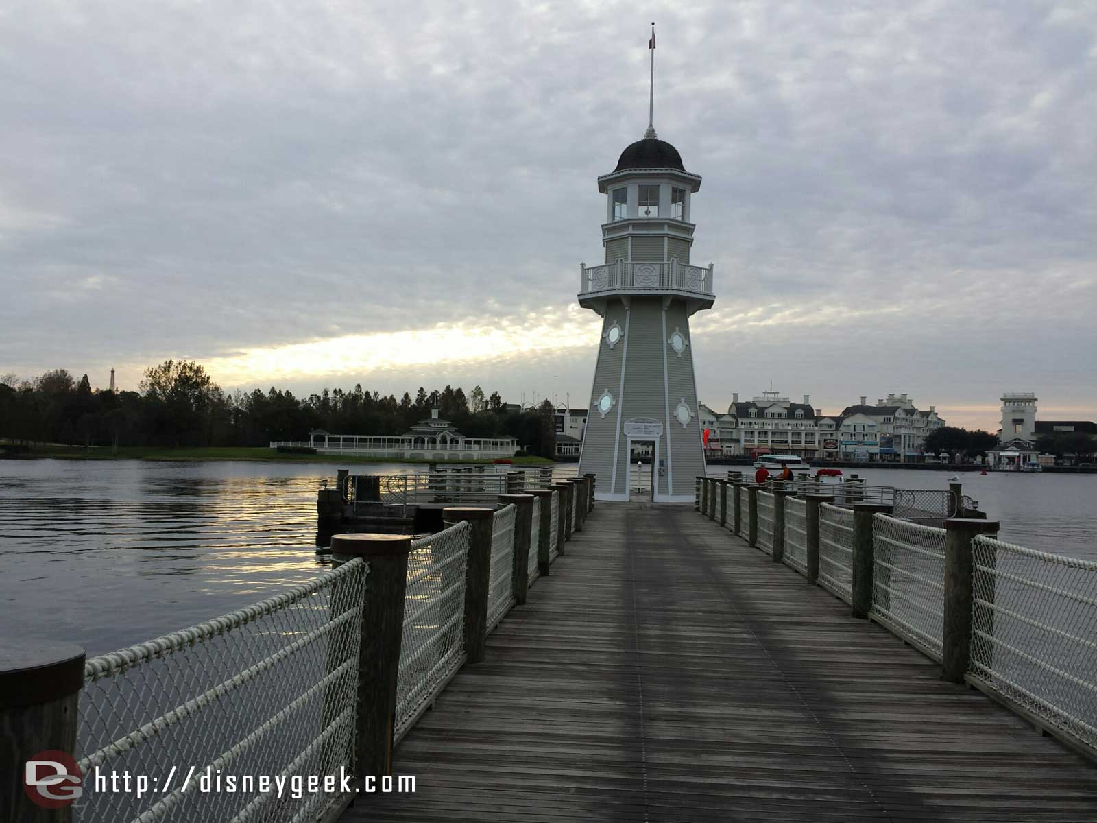 The Yacht Club lighthouse #WDW