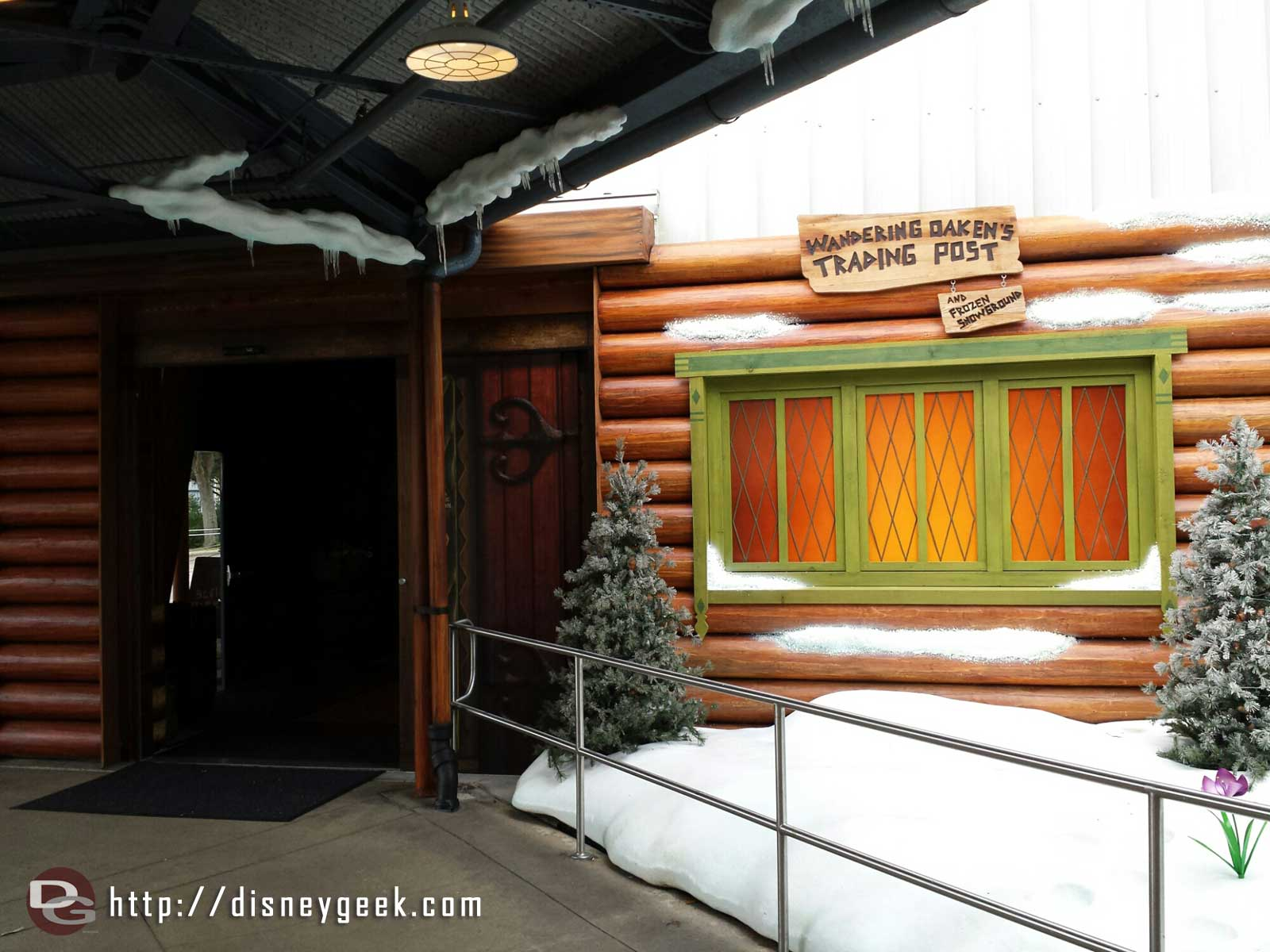 Stopping by the Wandering Oaken's Trading Post – Disney's Hollywood Studios