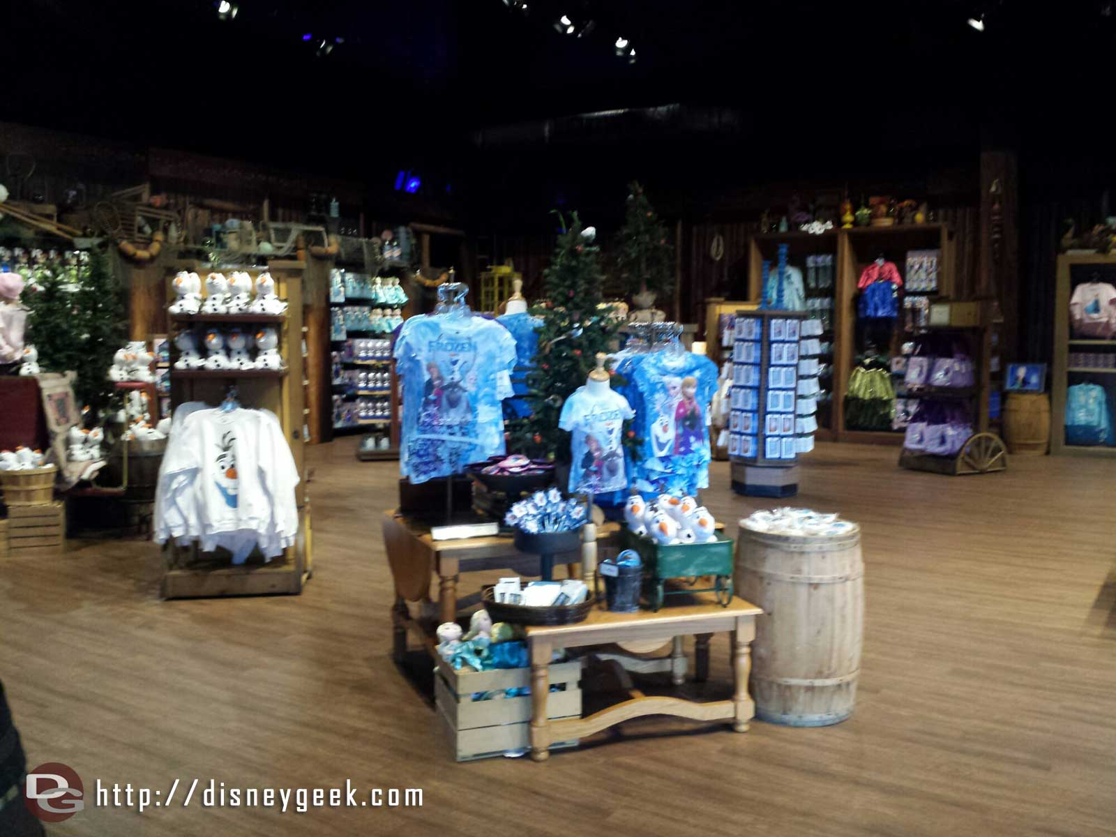 No one in the Wandering Oaken's Trading Post – Disney's