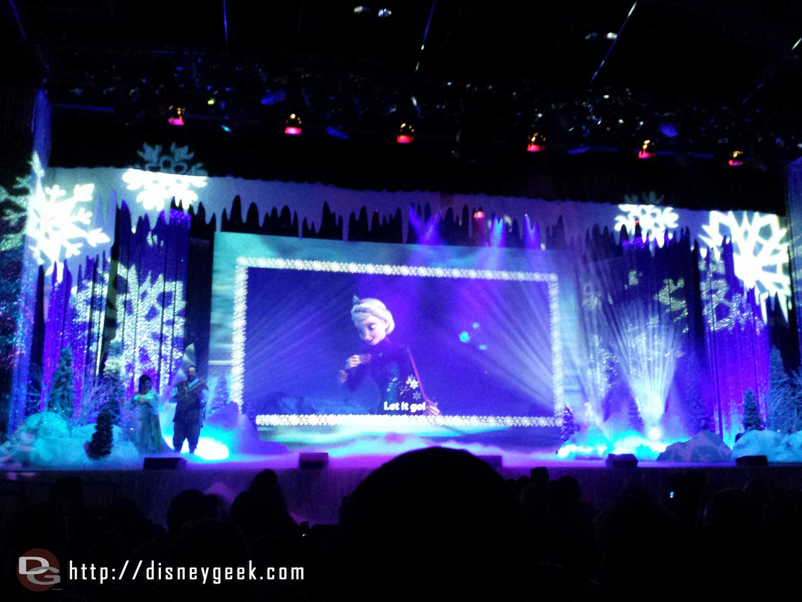 "For the First Time in Forever: A ""Frozen"" Sing-Along Celebration."