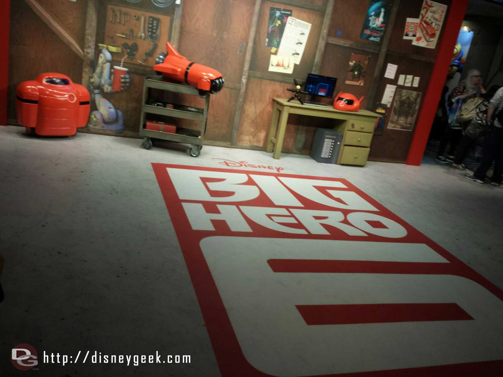 #BigHero6 Meet and Greet area in Disney's Hollywood Studios