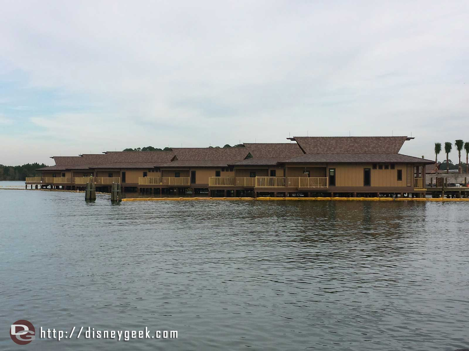 A check of the Polynesian Village's DVC construction