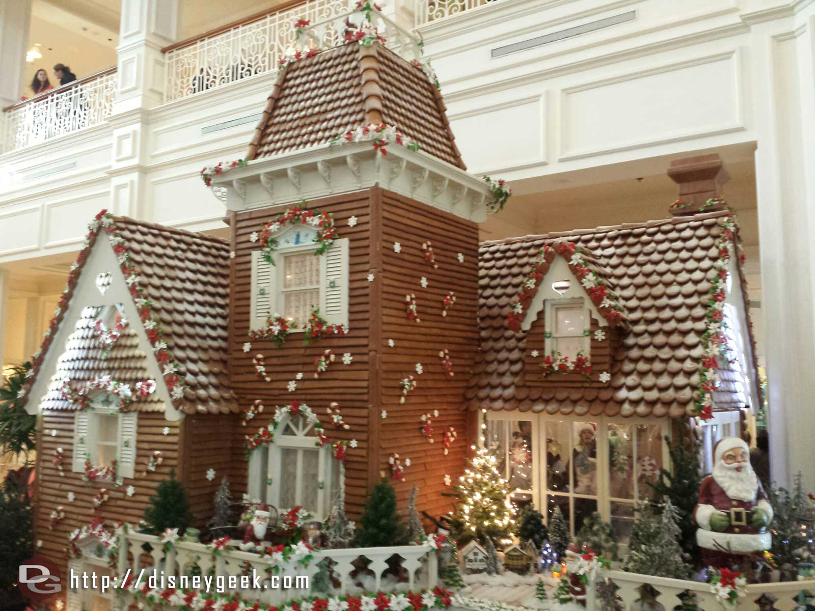 The Grand Floridian gingerbread house #WDW