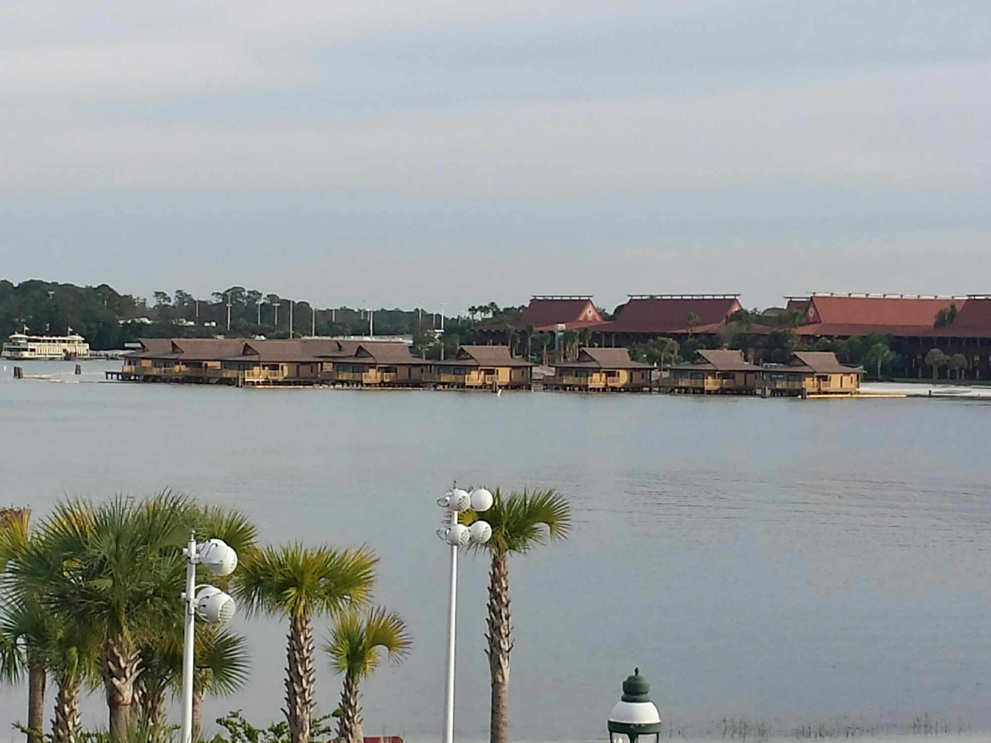 Polynesian DVC bungalows from the Grand Floridian #WDW