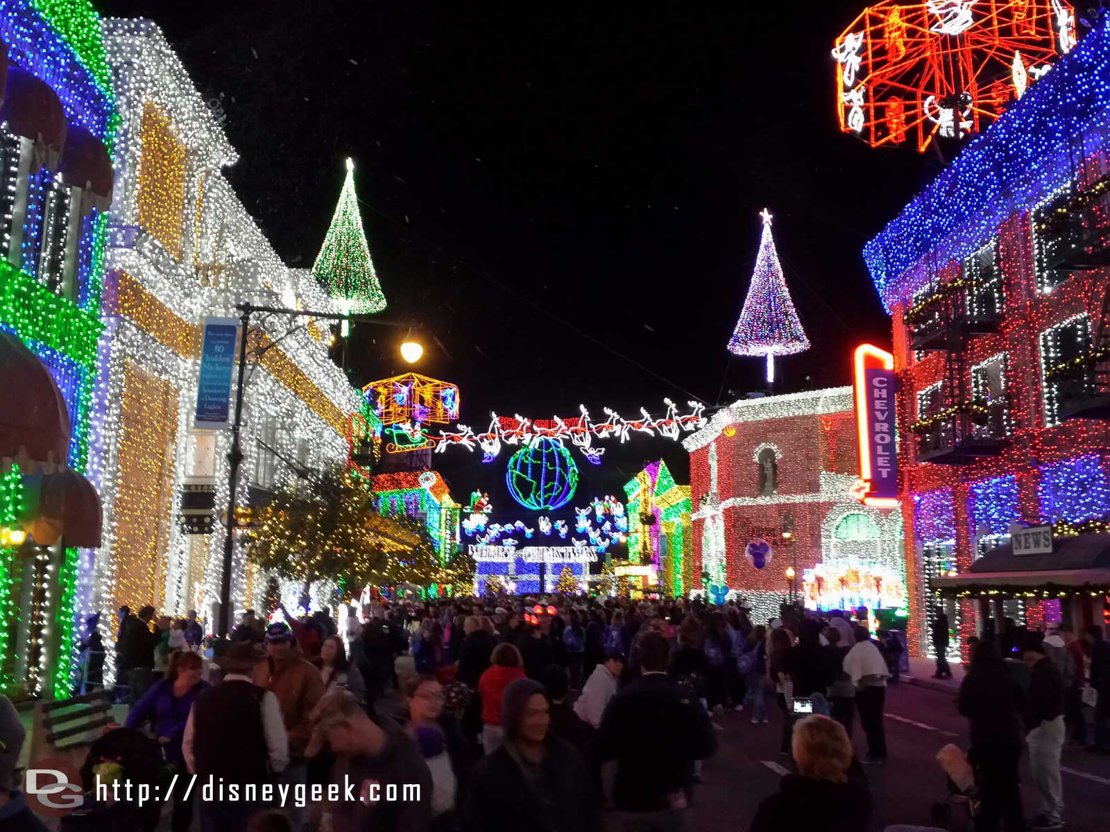 One last Osborne Family Spectacle of Dancing Lights picture – Disney's Hollywood Studios