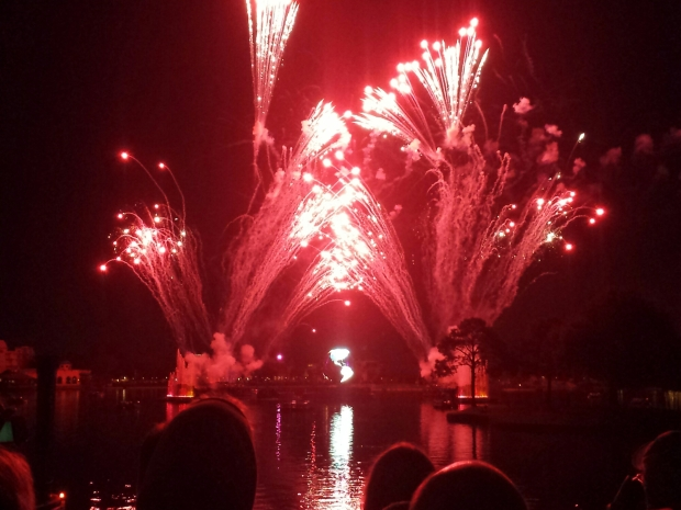 Closed out the evening with Illuminations at Epcot