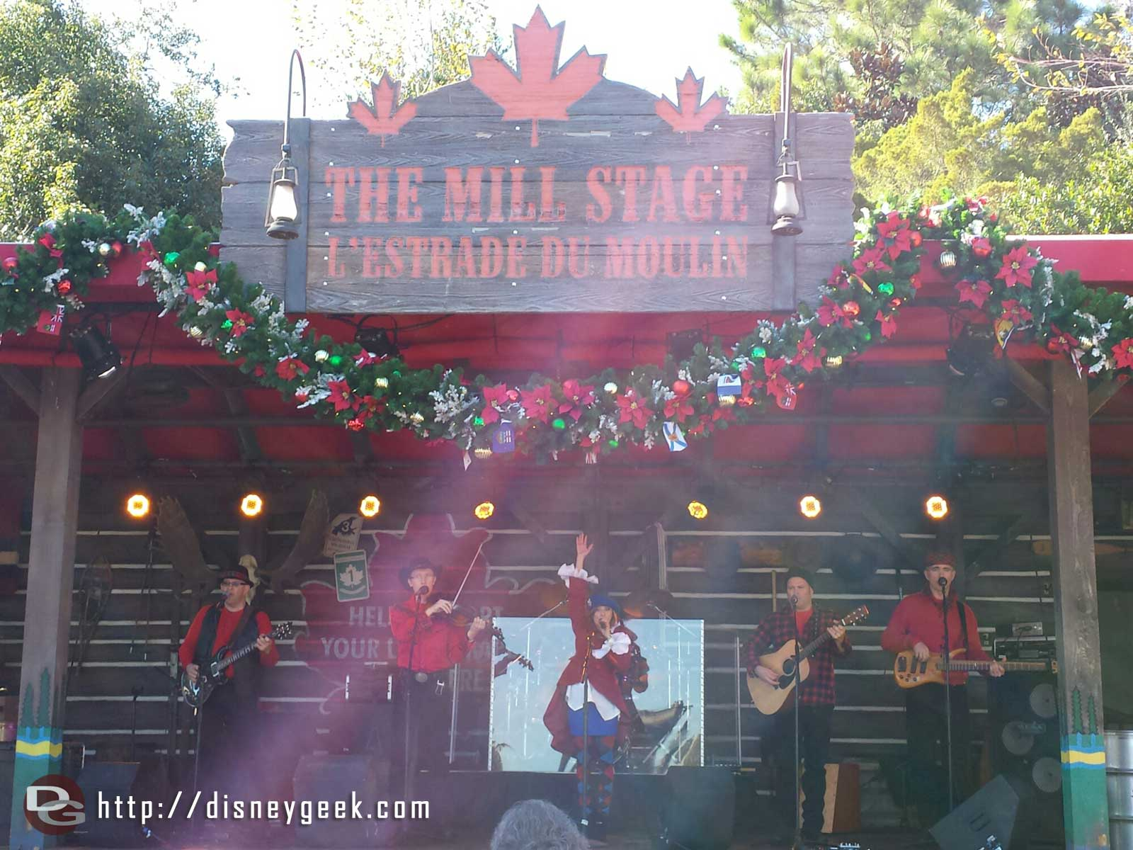 The Canadian Holiday Voyageurs – Canada #Epcot