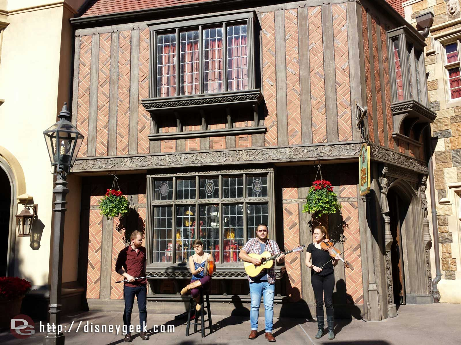 Paul McKenna Band – United Kingdom – #Epcot World Showcase