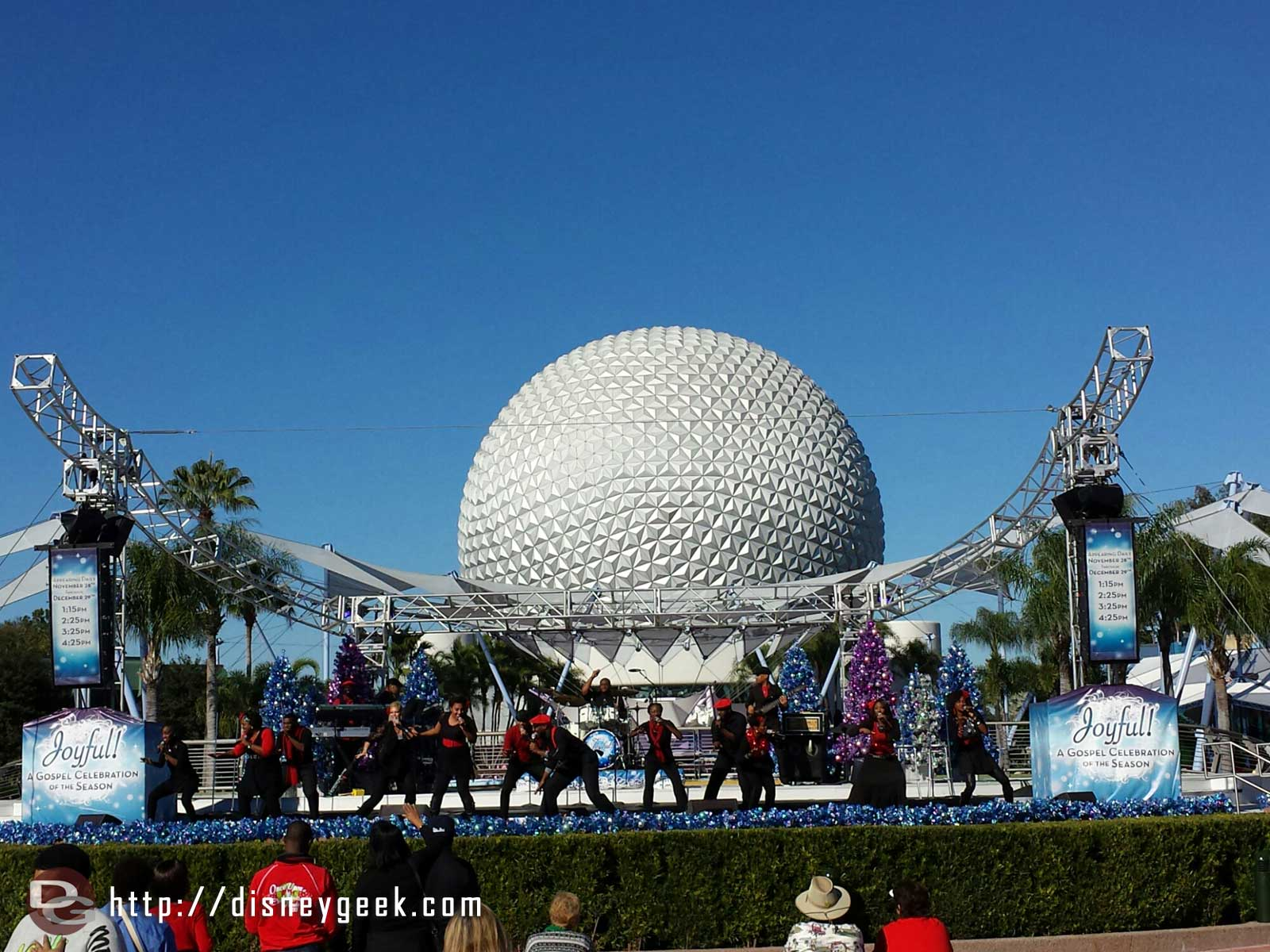 Joyful A Gospel Celebration of the Season #Epcot