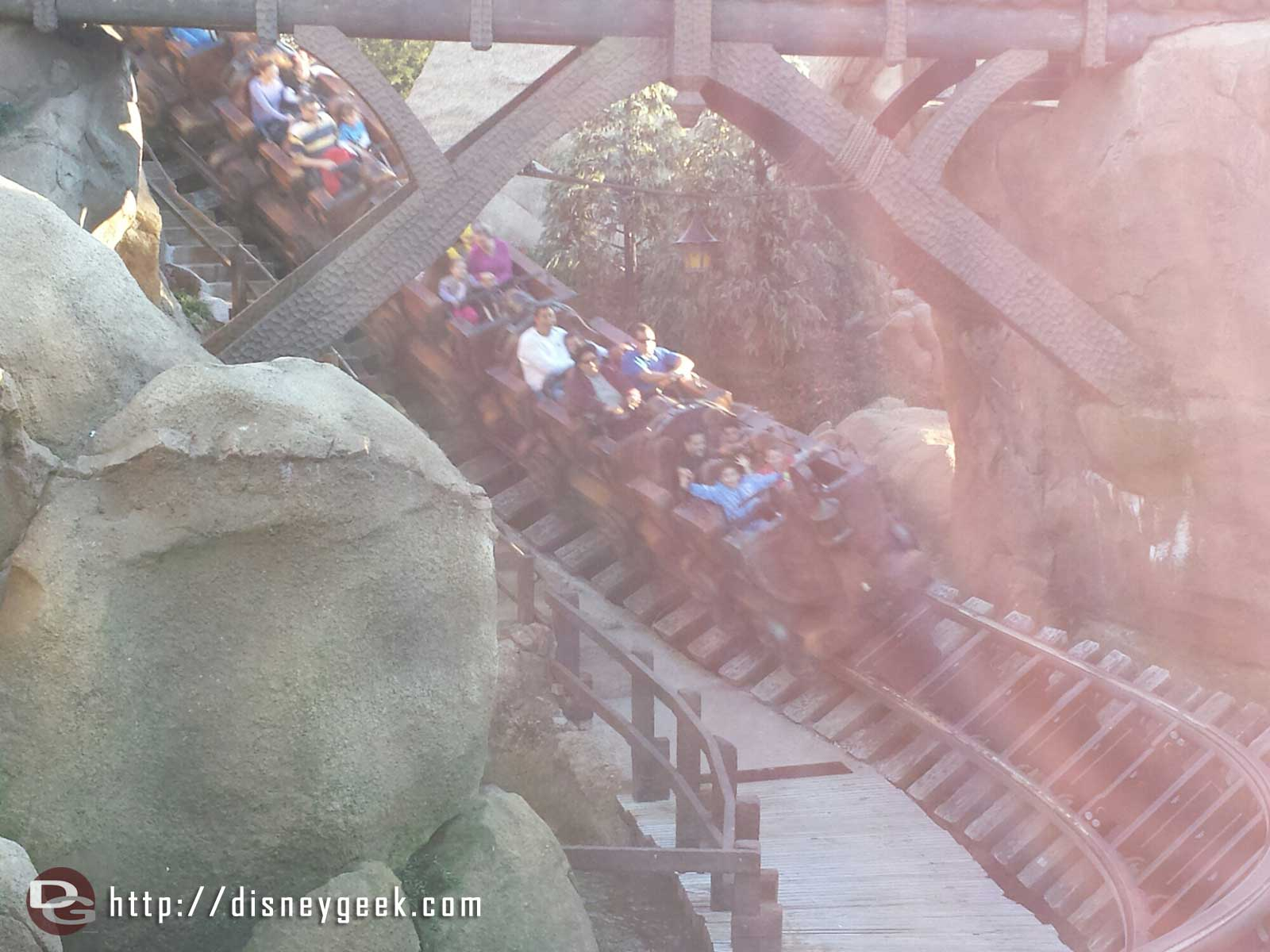 Seven Dwarfs Mine Train 120 min posted stand by today