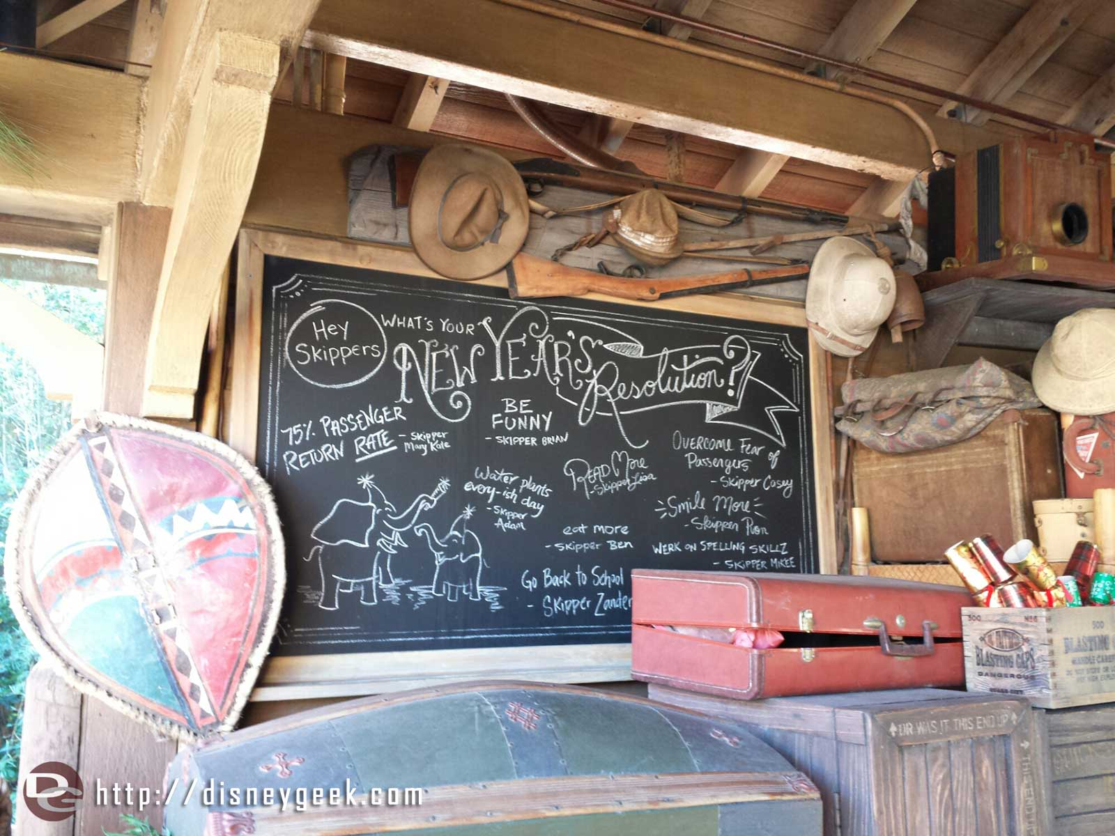 New Year's Resolutions – Jingle Cruise #WDW