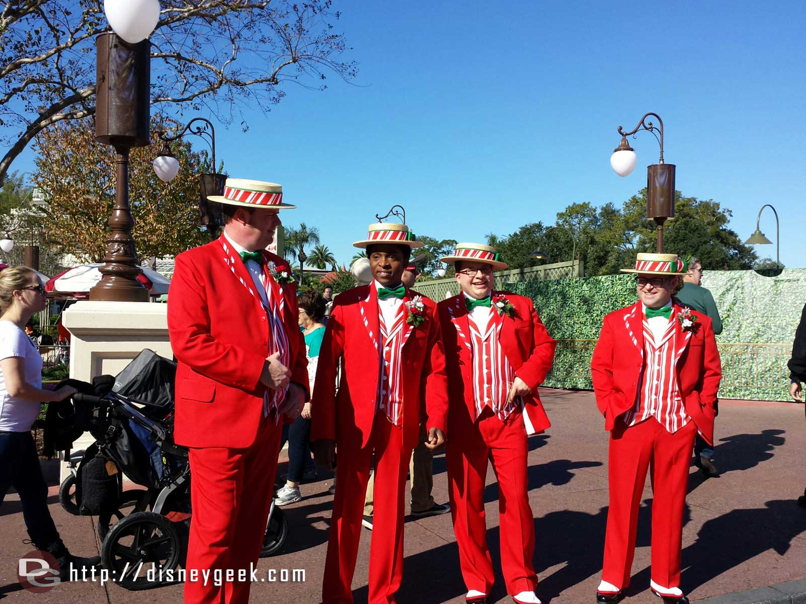 The Dapper Dans on Main Street USA #WDW