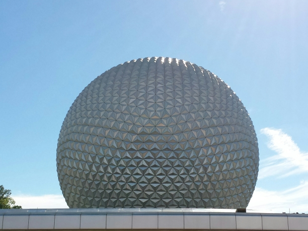 Next stop Epcot. One last Spaceship Earth picture.