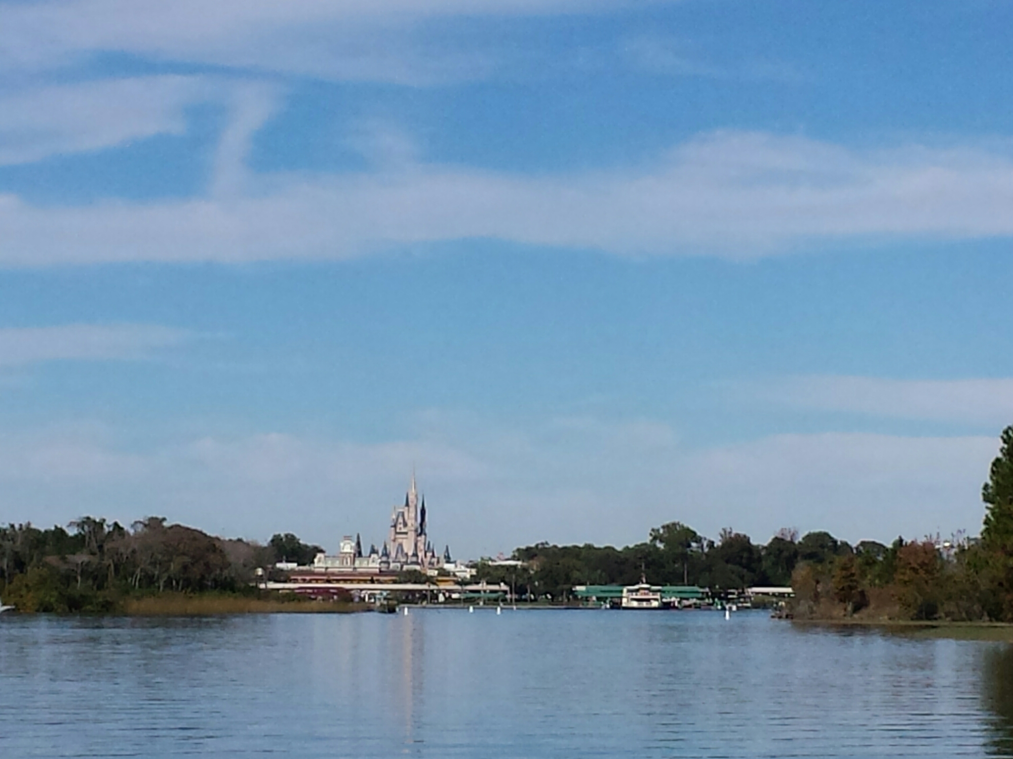 Ferry boat only right now at MK, express monorail is closed & only 1 ferry in operation #WDW