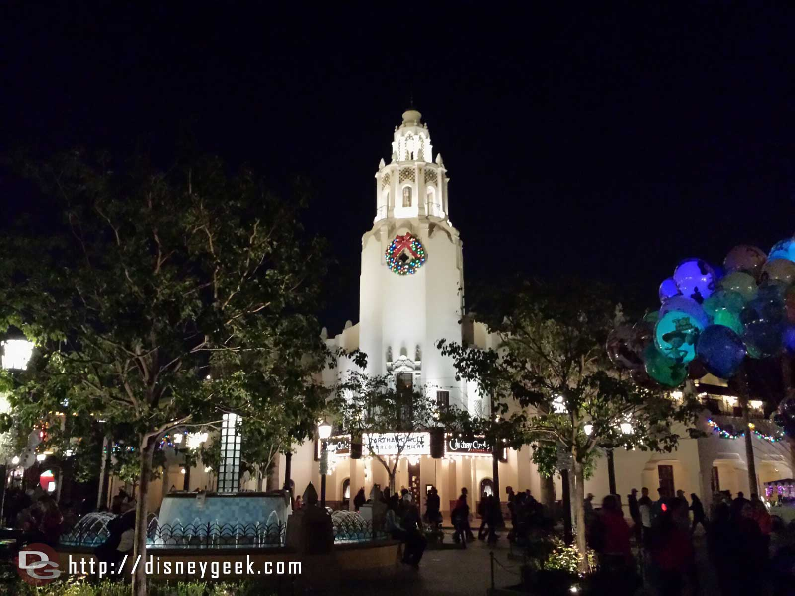 The Carthay Circle Restaurant #BuenaVistaStreet