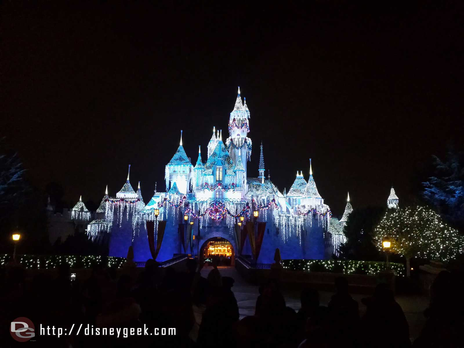 Sleeping Beauty Winter Castle #Disneyland