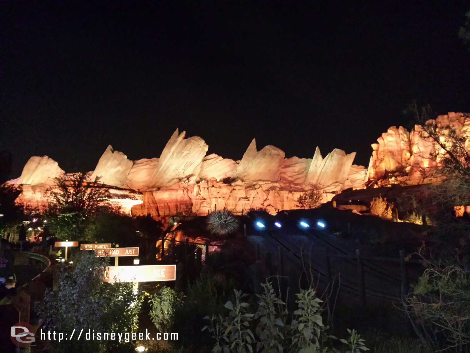 The Cadillac Range in Ornament Valley #CarsLand