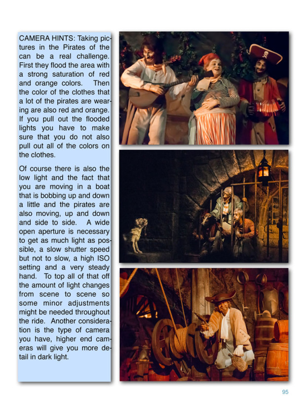 Disneyland A Photographers Dream - Sample Page from Pirates of the Caribbean