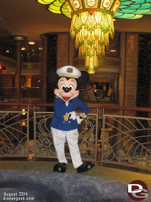 Disney Fantasy Cruise Ship – Characters (Guest Photo Blog)